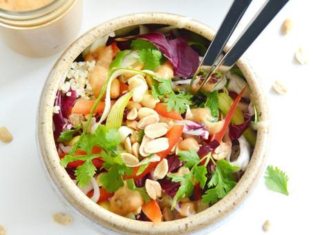Salades et sandwichs prêt à manger