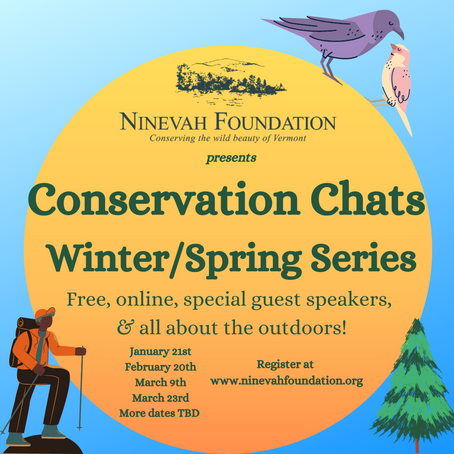 Conservation Chats: 2021 Winter/Spring Series