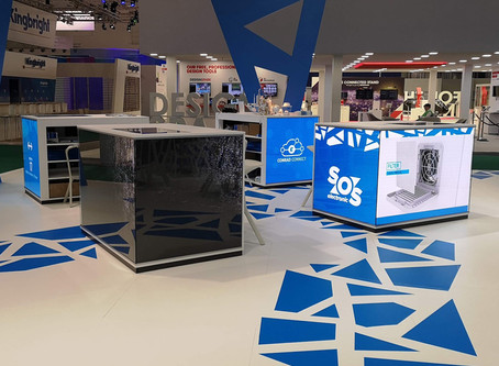 LED Media Cubes für Conrad Electronic