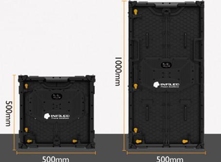 Erweiterung im LED-Wand Bereich mit Infiled ER 2.9 Series.