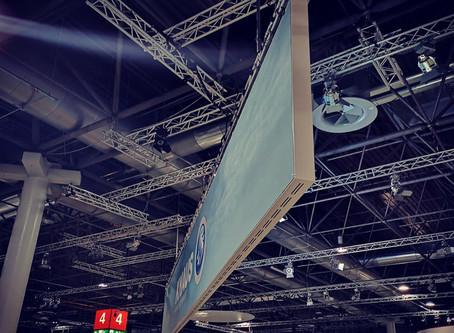 Ultra-Wide LED Wand für Knaus Tabbert beim Caravan Salon 2018