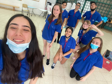 Israeli High Schoolers Lead from the Front