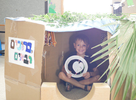 Celebrating Sukkot Under Lockdown in Our Day cares for Children of Critical Workers