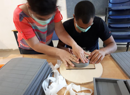 Our Students Expand Production of Protective Gear for Israel's Medical Staff