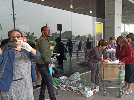 In Spite of It All: Rehovot Volunteers Commit to Community Despite the Coronavirus Crisis