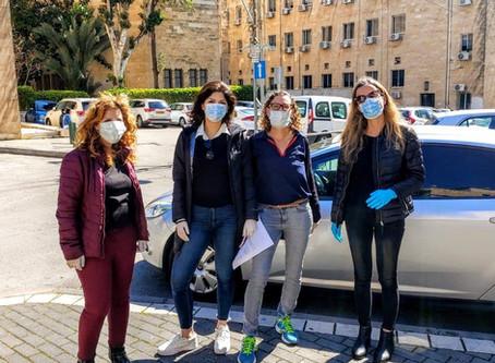 Keren Shagi and Haifa's Volunteers Doing Whatever Needs to be Done