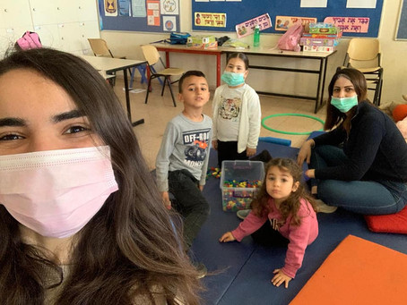 The Gift of Giving: Jolnar's Week as a Volunteer Counselor at Arabic Child Care