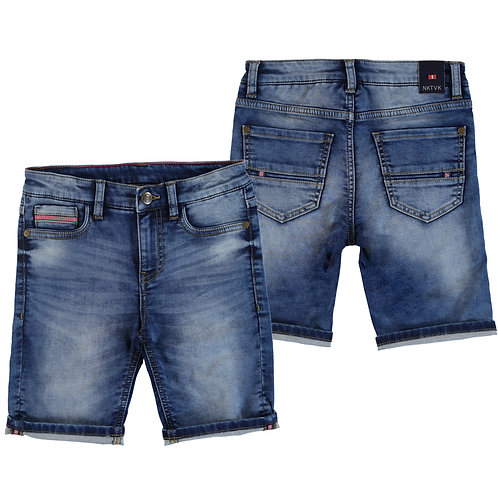 Mayoral-Bermuda soft denim- 6235