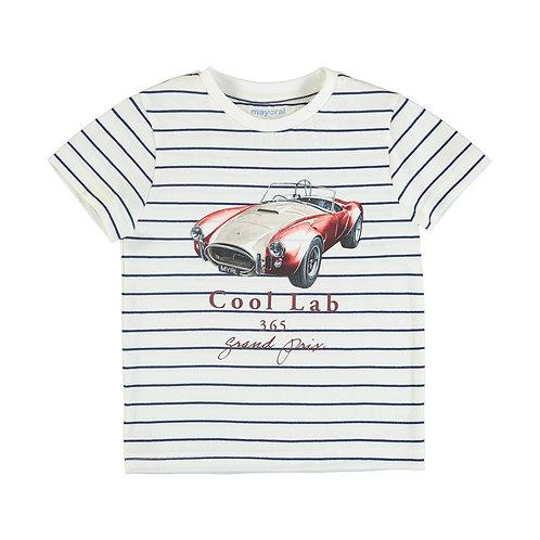 T-shirt m/c rayé- Mayoral-3064