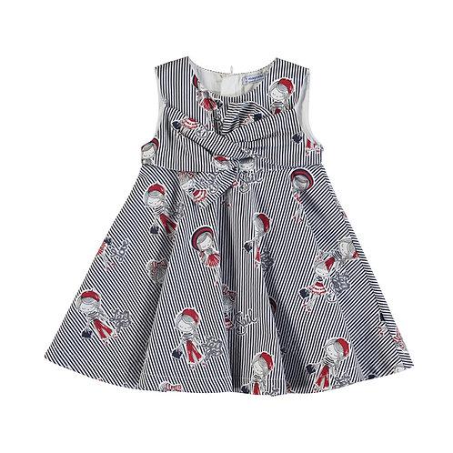 Robe rayée poupée- Mayoral -3938
