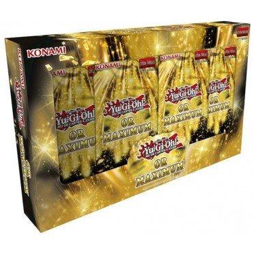 Coffret YuGiOh Gold Maximum
