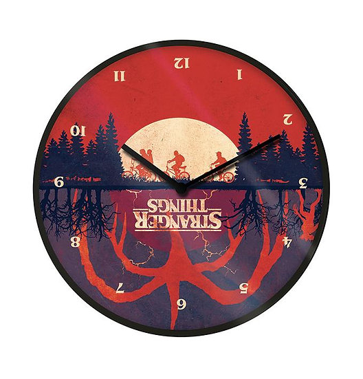 Horloge Murale Stranger Things