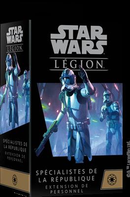 Star Wars Légion : Spécialistes de la République