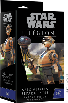 Star Wars Légion : Spécialistes Séparatistes