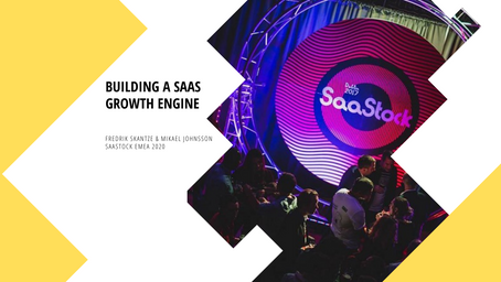 Designing a data-driven sales and marketing machine as a B2B SaaS scale-up