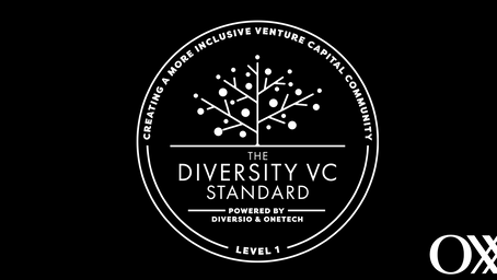 Oxx achieves Level 1 Certification in first Diversity VC Standard cohort