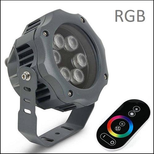 Proyector LED SWAN SMD 12W 15º RGB