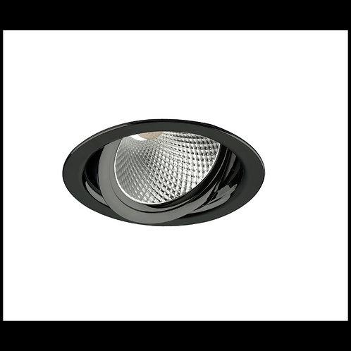 Aro basculante AR111 TrueColors Circular negro grafito