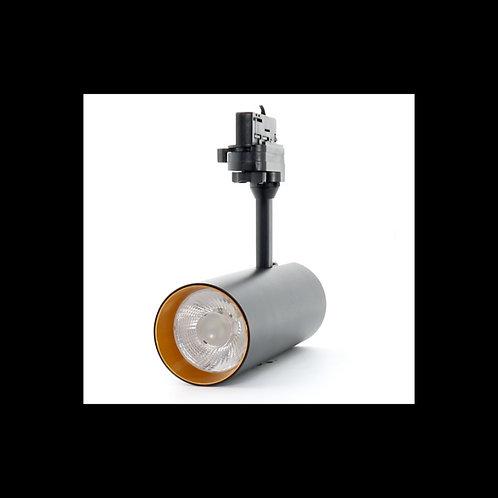 Foco LED para carril SYRA 30W Trifásico Negro