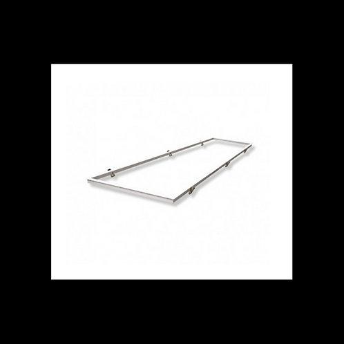 Perfil para empotrar panel LED 120X60 BLANCO