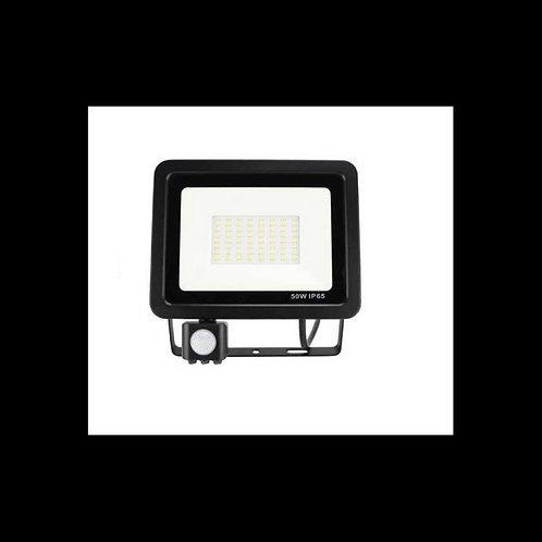 Foco proyector LED AMATISTA con Sensor de Movimiento 50W