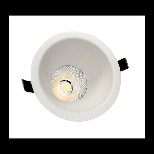 Aro Empotrable para AR111 TrueColors Circular Blanco