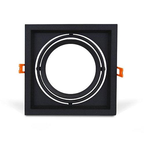 Carcasa orientable AR111/QR111 individual negra