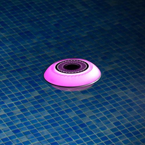 Luminaria led para piscina RGB con altavoz Bluetooth Flotante