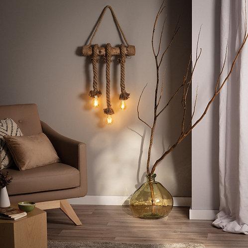 Guirnalda LED Colgante Kamba 3 Focos 2m