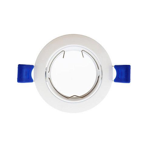 Aro basculante BASIC redondo blanco