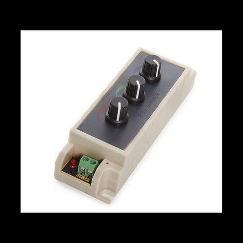 Controladora Led RGB cambio manual 12/24v