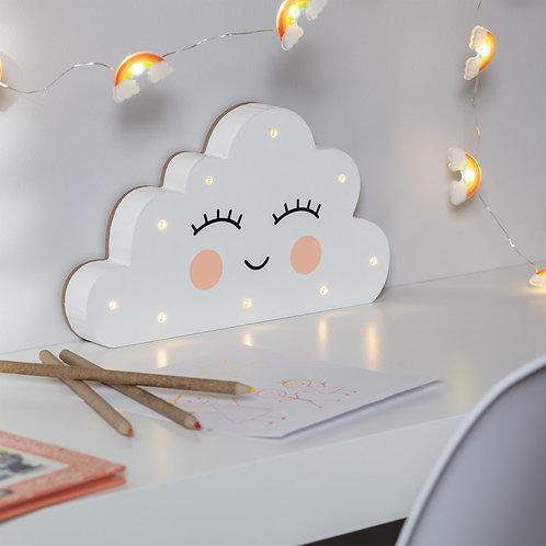 Lámpara de Mesa LED Infantil Nube