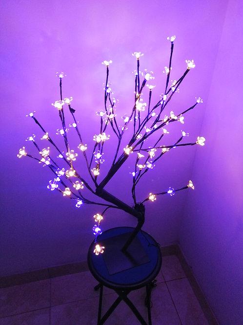 Arbolito de flores Led colores 80cm