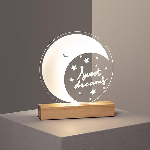 Lámpara de Mesa LED Infantil Melunis 5W