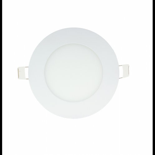 Downlight panel led circular 6w 120mm