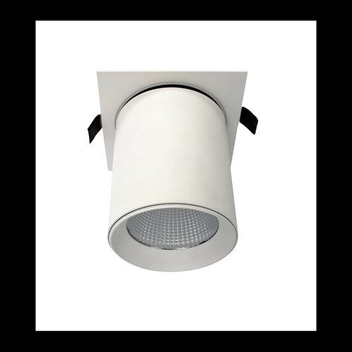 Aplique empotrable basculante AR111 blanco