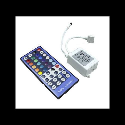 Controladora LED de botones RGB+Blanco 12/24V