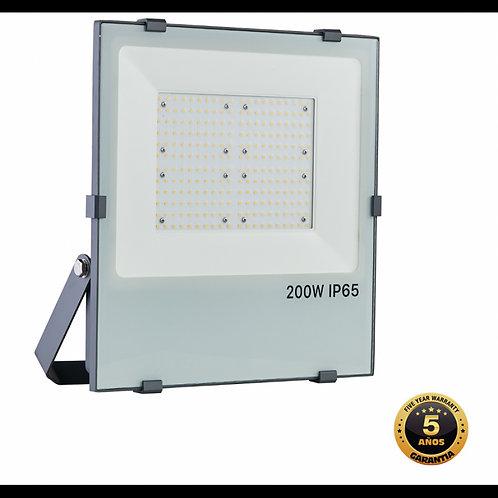 Foco proyector Led SMD Grafito 200w 5000k