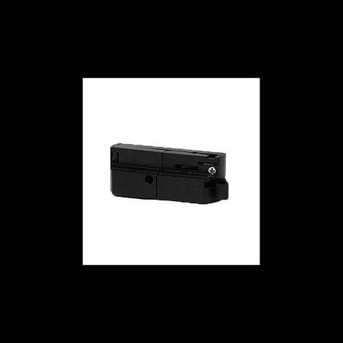 Conector para carril Monofásico Negro
