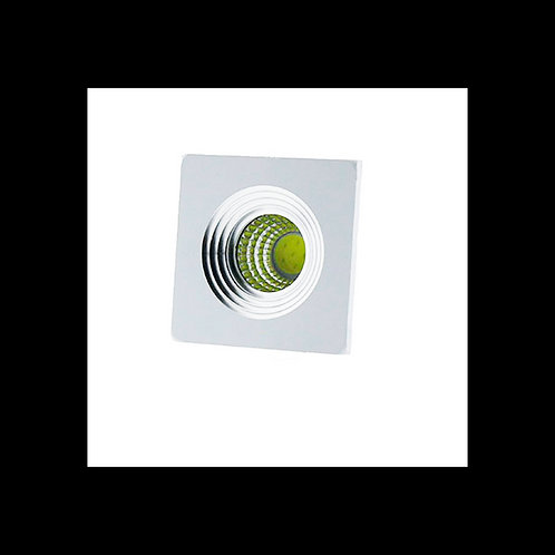 Downlight Mini cuadrado 3w 35º