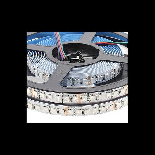 Tira led 24V DC RGB 24w/m IP20