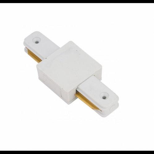 Conector en línea para carril monofásico BLANCO y NEGRO