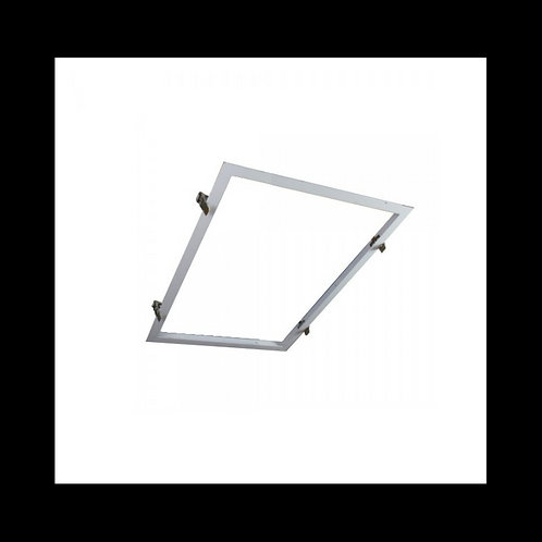 Perfil para empotrar panel LED 60X30 BLANCO