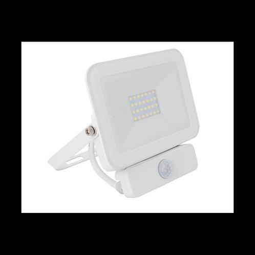 Foco proyector LED SIAK 20W Blanco Con Detector de Movimiento PIR