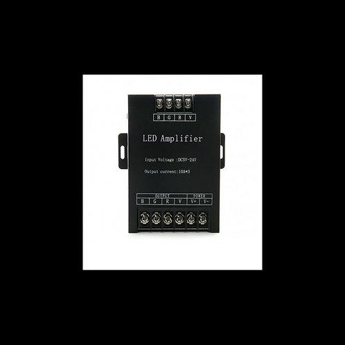 Amplificador RGB 12V/24V 10 Amperios X 3 Canales