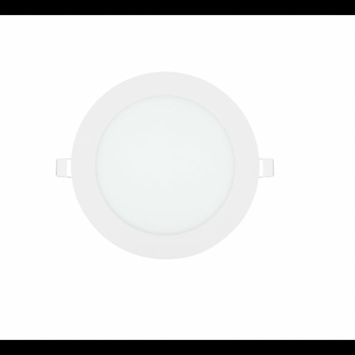 Downlight panel led circular 12w 165mm