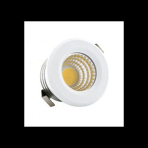 Downlight Led Mini Circular 3w 40mm 24º