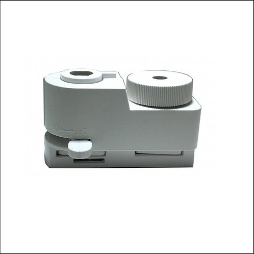 Conector para carril monofásico Blanco