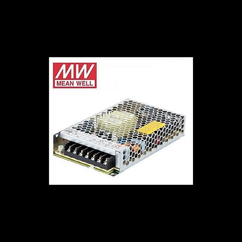 Fuente de alimentación para tiras led 150w 12Vdc Mean Well