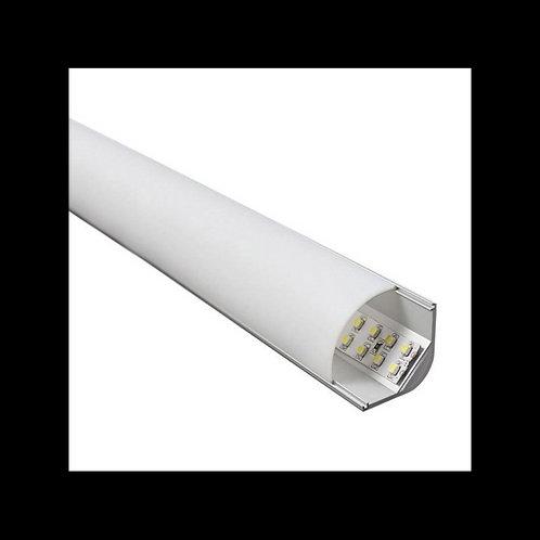 Perfil de aluminio L 2m